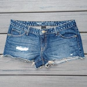 Mossimo Denim Low Rise Short Short 10/30